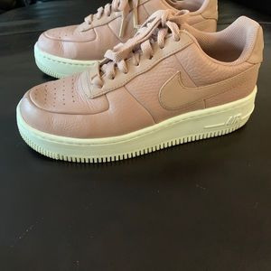 Nike Shoes - Platform Nike Air Force 1